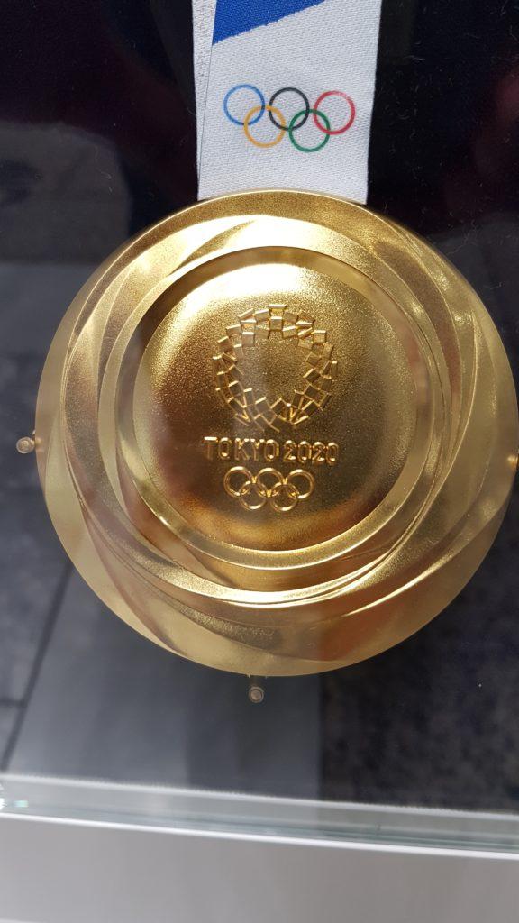 東京オリンピック 金メダル