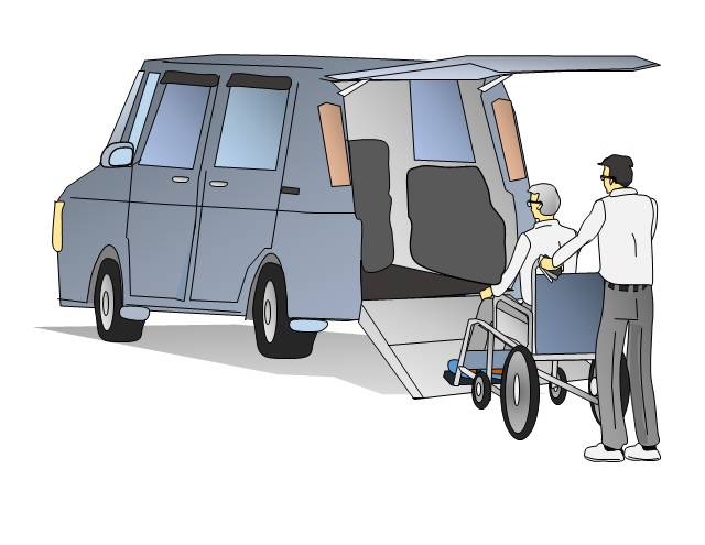 車椅子乗車介護